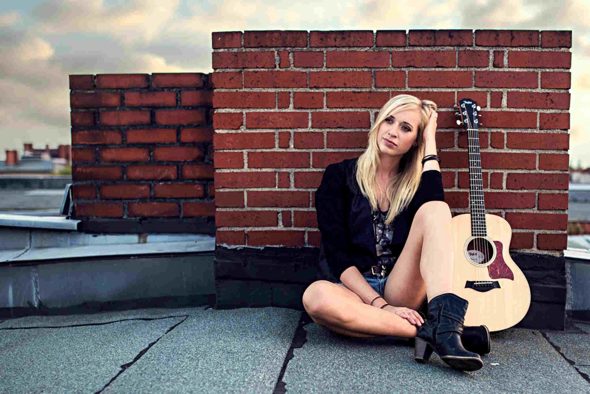 Christin Krause Sängerin Gitarre