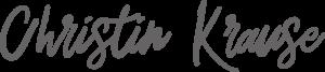 Logo der Sängerin und Gitarristin Christin Krause