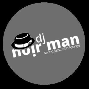 Logo DJ noir.man